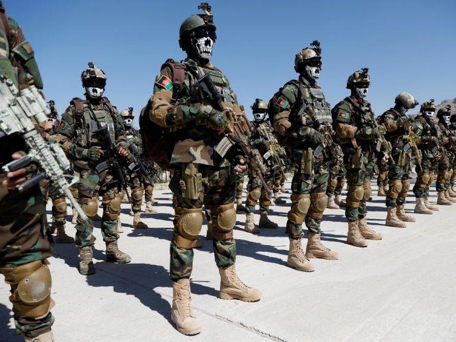 Barisan pasukan khusus Afghanistan (VOANews)