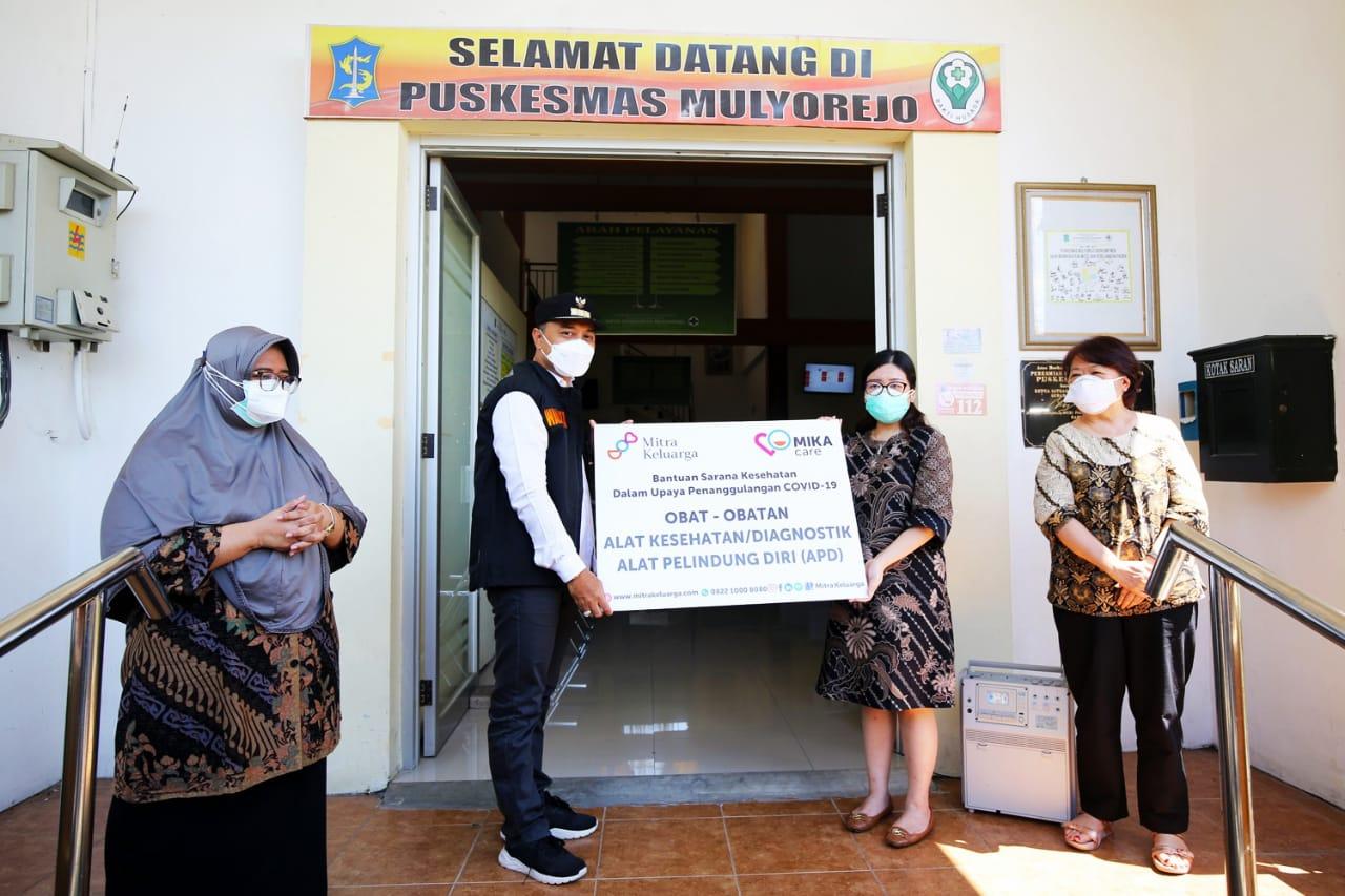 Pemkot Terima Bantuan Ribuan Alkes dari RS Mitra Keluarga Group