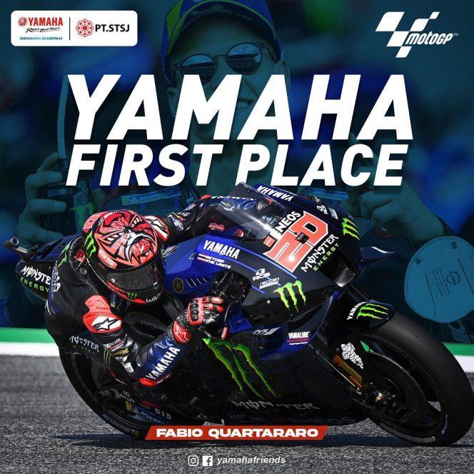 Kemenangan Fabio Quartararo berdampak positif terhadap kepercayaan masyarakat dengan kualitas Yamaha Khususnya di Jawa Timur.