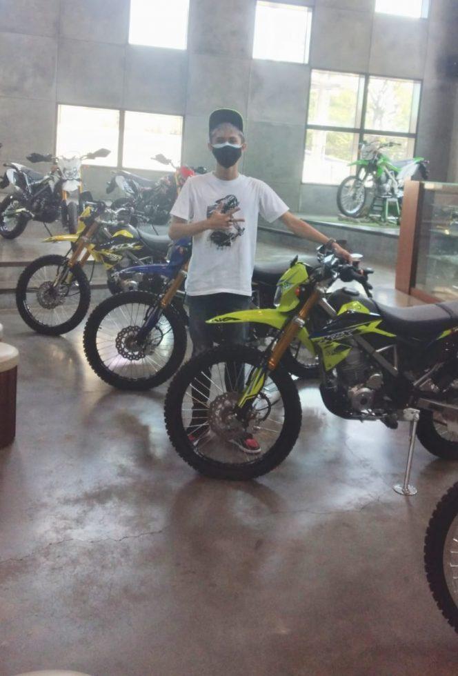Daniel selaku Marketing, PT Suraprita Unitrans - Kawasaki Jemursari (ist)
