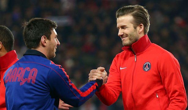 Komentar Beckham Terkait Kepindahan Messi ke PSG