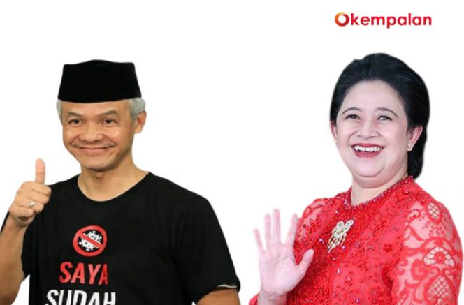 Ganjar Pranowo dan Puan Maharani (kempalan)