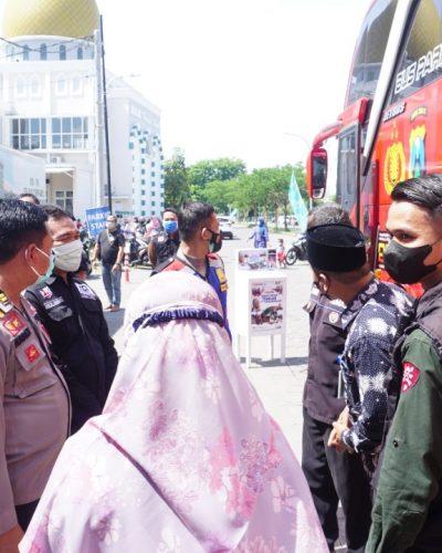 Pelaksanaan vaksinasi di SD Nurul Hikmah  Siwalan  Panji Sidoarjo