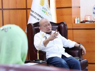 Ketua DPD RI, AA LaNyalla Mahmud Mattalitti, mengajak para wanita yang tergabung dalam Badan Musyawarah Islam Wanita Indonesia (BM IWI), untuk mendukung perbaikan bangsa.