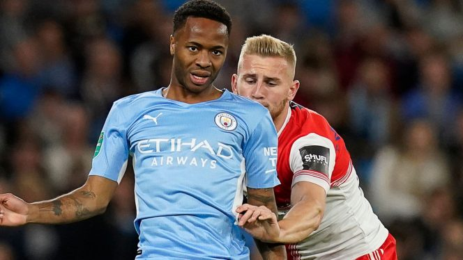 Striker Manchester City, Raheem Sterling (Sky Sports)